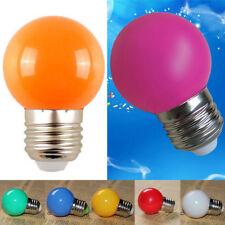 10 PCS E27 3W Energy Saving LED Golf Ball Light Bulb Party Globe Decor Lamps