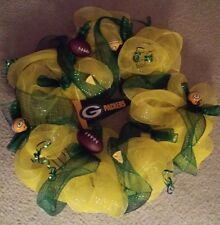 NFL Greenbay Packers wreath for you Diehard Fans!!!