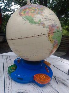 GeoSafari Challenge Globe - Talking Globe Game - Geography Game EI-8850 tested