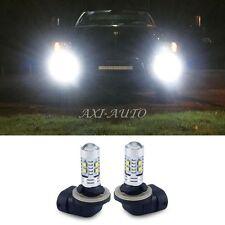 2X 50W 889 881 898 6000K Car Truck LED Fog Driving DRL Light CREE Bulbs 12-24V