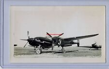 1946 LOCKHEED P-38 LIGHTNING TONY LEVIER THOMPSON RACE ORIGINAL PHOTO WWII RARE