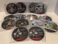 Ps2 Playstation 2 Game Lot Of 13. Kingdom Hearts, Final Fantasy, Star Ocean.