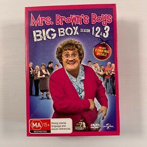 Mrs. Brown's Boys - Big Box : Series 1-3 SEALED (DVD 2013 7 disc-set) Region 4