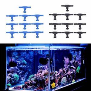 10pcs Fish Tank Air Line Flow Control Regulator Valve Aquarium For 4/6mm Pipe