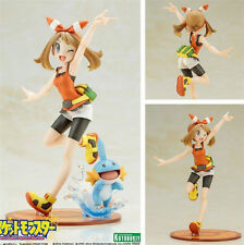 Pokemon Series May Mudkip Sapphire Pocket Monster Anime Figure Figurine 19CM NB