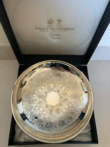 Arthur Price England Sovereign Collection Silver Plated Bowl