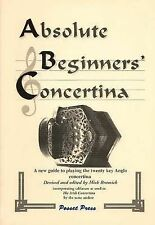 Absolute Beginner's Concertina: A New Guide to Playing the Twenty Key Anglo Concertina by Michael Richard Bramich (Hardback, 2000)