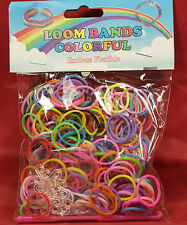 Colorful Braccialetto arcobaleno Loom Bandz ASS blocco colori Twistz