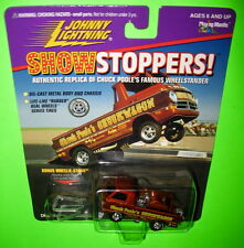 Johnny Lightning Showstoppers Chuck Poole Chuckwagon Wheelstander Stand 1997 MOC