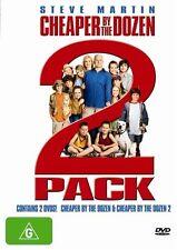 Cheaper By The Dozen Double Pack (DVD, 2006, 2-Disc Set) Steve Martin