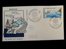 MONACO PREMIER JOUR FDC YVERT  1111     ALBERT1 ER  NAVIGATEUR      3F      1977