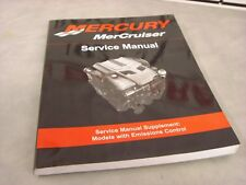 New 2008 Mercruiser SUPP  Models with Emissions Control  90-879288023   2-D-1