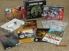 N64 Nintendo 64 Lot Of Empty Boxes Manuals Duke Nukem South Park Mortal Kombat 4