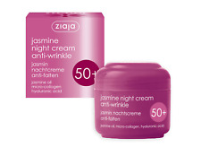 Ziaja Jasmine Anti-wrinkle Night Cream For Dry - Mature Skin 50+ 50 ml