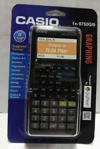 Casio fx-9750GIII Graphing Calculator - Black BRAND NEW