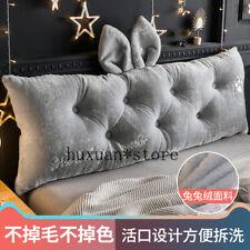 New Bedside Cushion Soft Bag Large Backrest Bedroom Bed Princess Sofa Big Pillow