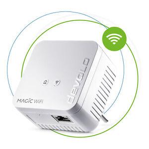 devolo Magic 1 WiFi mini Powerline Einzeladapter WLAN Mesh 1200 Mbit/s LAN