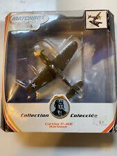 Matchbox Collectibles Curtiss P-40E Warhawk Diecast Airplane box damaged