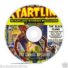 Startling Stories, 71 Vintage Pulp Magazine, Golden Age Science Fiction DVD C64