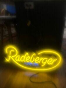 Radeberger Pilsner vintage neon sign craft beer frat house man cave decor
