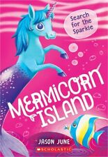 Search for the Sparkle (Mermicorn Island #1) (Paperback or Softback)