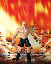 WWE WRESTLING LOOSE TITAN TRON SERIES SUPERSTAR WRESTLER STONE COLD JAKKS