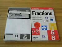 EDU Ware Fractions apple II software