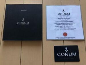 Genuine CORUM Warranty card + Manual m80928664128