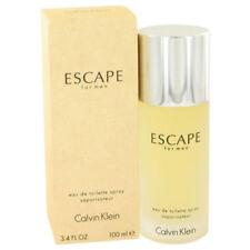 Escape For Men 3.4oz/100ml Edt Spray For Men New in Box by Calvin Klein
