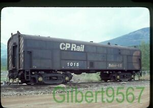 Canadian Pacific original rail slide # 1015 taken 1979