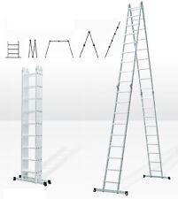 8,05 m Mehrzweckleiter Anlegeleiter Stehleiter Multifunktionsleiter Leiter