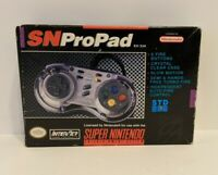 SN Super Nintendo SNES Propad Turbo/Slow Video Game Controller - Complete In Box