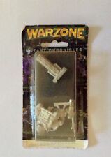 1995 Warzone Mutant Chronicles Hellfire Cart With Crew (Ilian) 9518-C Metal