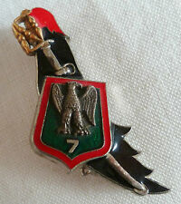 Insigne 7° RCC Chasseurs à Cheval Cavalerie ORIGINAL Delsart G.2037 France 2