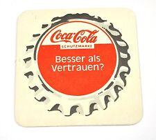 Coca-Cola SOTTOBICCHIERI DI BIRRA sous-in VENA Germania TAPPO BOTTIGLIA motivo