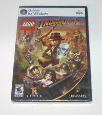 Lego Indiana Jones 2 The Adventure Continues PC Computer Game MIB BRAND NEW