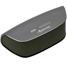 Alpatronix AX420 Bluetooth Speaker 10W Stereo w/ Mic Volume/Playback Controls