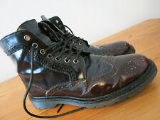 Mens Airwair Brogue Boots -Like Dr Martens  - 8 / 42