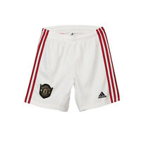 Manchester United FC Official Football Gift Boys Home Kit Shorts 2019/20