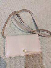 Nine west / phone Wallet with shoulder strap/ nude pink/ new
