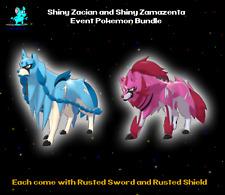 ✨ Ultra Sqaure Shiny Zacian + Zamazenta GameStop Event Pokemon Sword Shield ✨