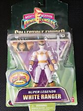 Bandai Power Rangers Collectible Figures Super Legends WHITE RANGER