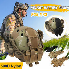 Tactical Helmet Cover Tactical Camo Pouch Bag Combat MK2 Airsoft Paintball