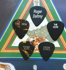 THE WHO The How, Simes, Daltrey 5-guitar pick SET - NEW!