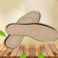 PRO Leder Sweat Antibakterielle Deodorant Kissen Fuß Schuh Einlegesohlen NEU.