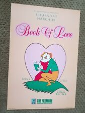 BOOK OF LOVE-Legal Reins F84 FILLMORE POSTER