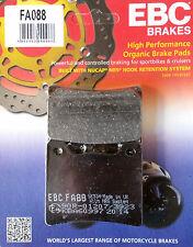 Ebc/fa088 Pastillas De Freno Trasero-Yamaha Fzr600, Yzf1000 Thunder Ace, xvs1100 Dragstar