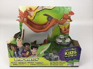 Netflix The Last Kids On Earth Toys Bitin Wretch Figure 9pc Playset Jakks 2019