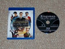 Kingsman: The Secret Service Blu-ray 2015 Canadian Colin Firth Taron Egerton