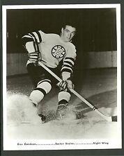 Jean Guy Gendron Boston Bruins Vintage 8 x 10 Hockey Press Photo